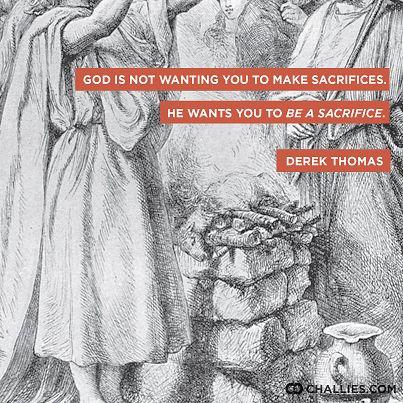 how to make a sacrifice