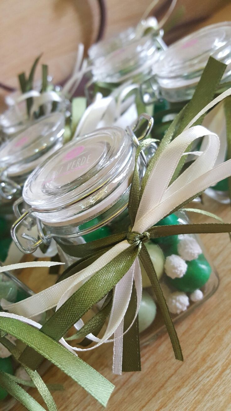 Bomboniere portaspezie  fancyvsweet box  Green and ivory