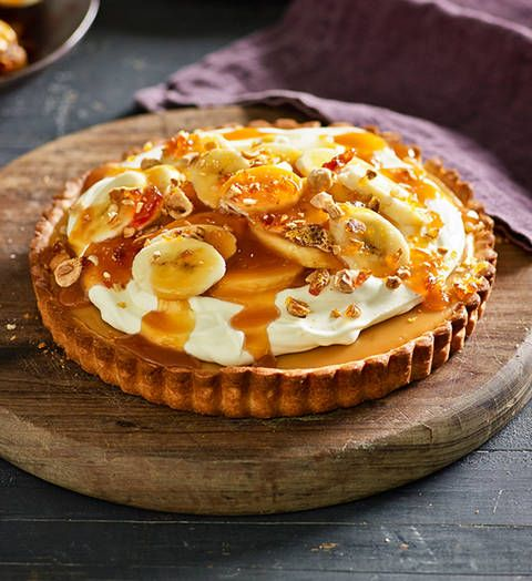 Caramel tart: If you're a fan of a classic caramel slice, you'll love this! We've stepped it up a notch and turned it into a fab tart. It's versatile, too...