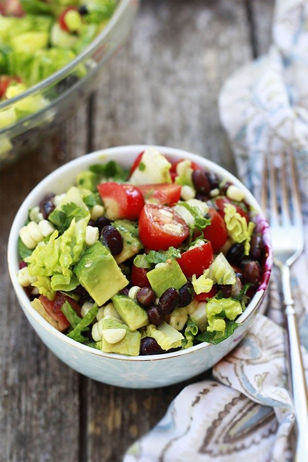 Yummy Mummy Kitchen: Mexican Salad and 10 Best Summer Salad Recipes We made the Mexican salad today. We skipped radishes. Serve dressing and avocados on the side. Yummy! For dinner I marinated shrimp in extra dressing,placed over Salad with salt and jalapenos.