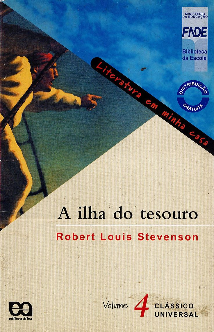 ILHA DO TESOURO, A, LITTERATURA EM MINHA CASA.This collection is made to favorise the encountering in between a book and a reader. Ref. number(s): POR-026 (book). You can borrow this book for 1 month!
