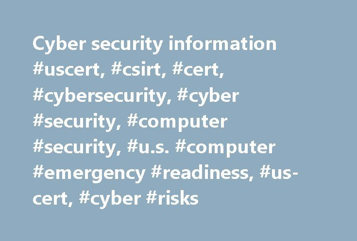 Cyber security information #uscert, #csirt, #cert, #cybersecurity, #cyber #security, #computer #security, #u.s. #computer #emergency #readiness, #us-cert, #cyber #risks http://dental.nef2.com/cyber-security-information-uscert-csirt-cert-cybersecurity-cyber-security-computer-security-u-s-computer-emergency-readiness-us-cert-cyber-risks/  # Published Thursday, May 25, 2017 The Federal Trade Commission (FTC) has released an alert about how quickly criminals begin using your personal information…