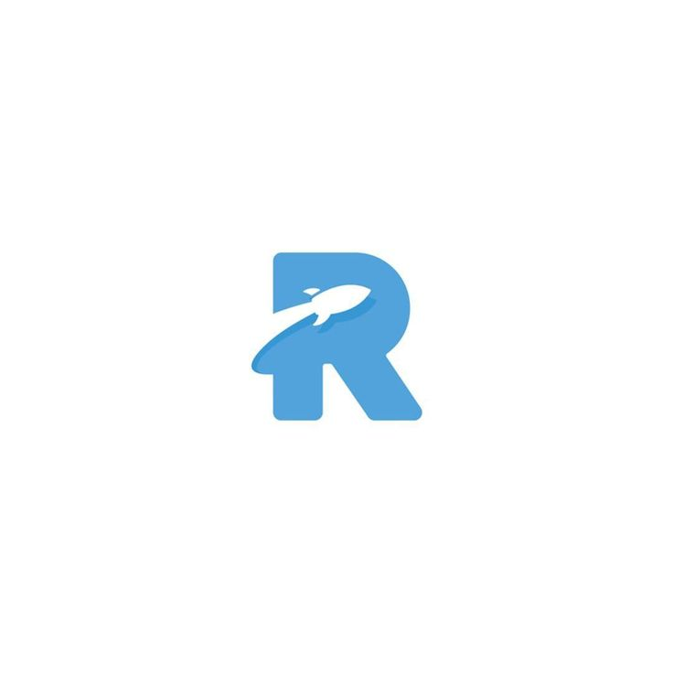 R Rocket by Sahil Sadigov @sadigovic - LEARN LOGO DESIGN ⬇️⬇️ logoinspiration.net/learn-logo-design - Want to be featured next? Follow us and tag #logoinspirations in your post