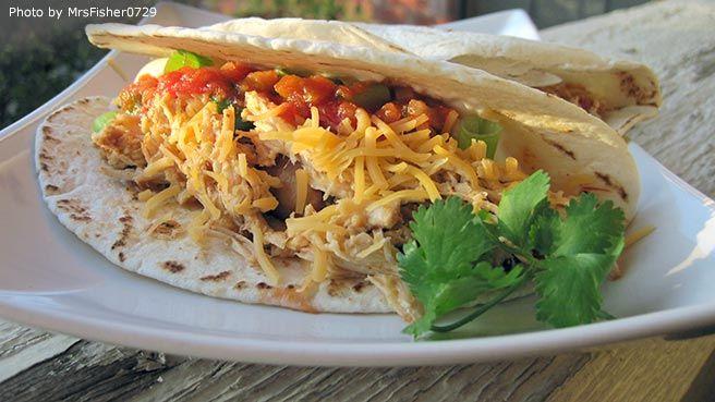 Slow Cooker Cilantro Lime Chicken | Main Dish Ideas | Pinterest