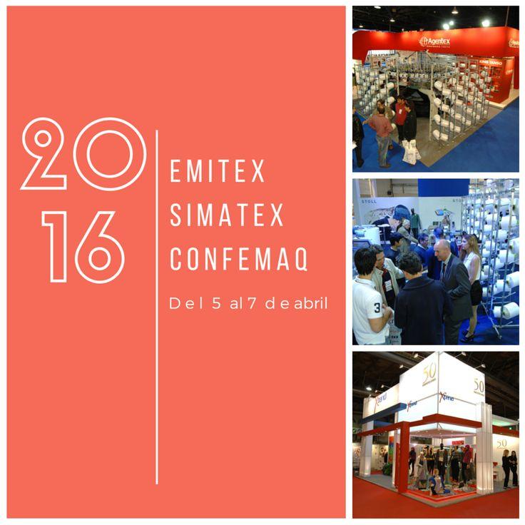 #EventoModa Emitex - Simatex - Confemaq exposición de proveedores del sector textil e indumentaria en Argentina. Se trata de tres eventos que se realizan en simultáneo para presentar toda la oferta de los proveedores de la industria textil y confeccionista. Del 5 al 7 de abril, de 14 a 21 hs. en Costa Salguero Les dejamos los videos que presentan la edición 2016 ►https://www.facebook.com/IndustriaTextilExpo/videos #EnamorateDeTusPrendas