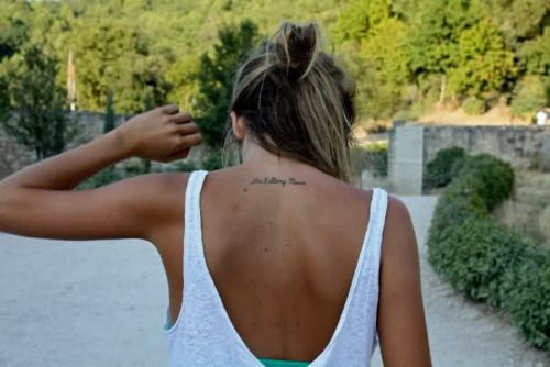 another good spot: Tattoo Placements, Tattoo Ideas, Style, Back Tattoo, Tattoos Piercings, Tattoo'S, Tatoo, Ink