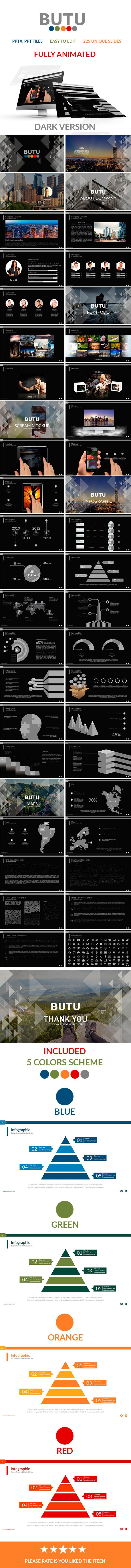 Butu V.2 Powerpoint Presentation (PowerPoint Templates)