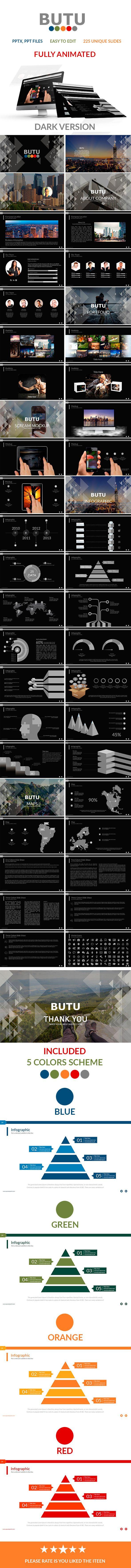 Butu V.2 Powerpoint Presentation (PowerPoint Templates)