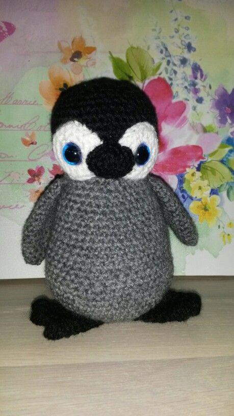 Haakpatroon Amigurumi Penguin : Gehaakte pingu?n. - haken Pinterest