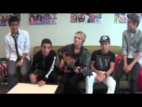 "IM5 cover ""Boyfriend"" by Justin Bieber!"