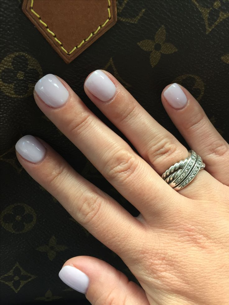 Sns Light Pink Nails 131 Too Thick