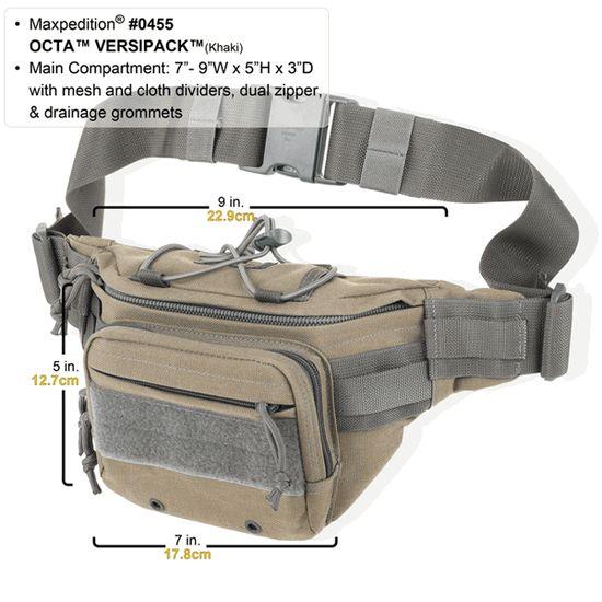 "Maxpedition OCTA Versipack 0455  I would like the ""Khaki Foliage"" color option -SP"