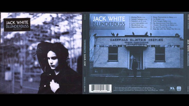 Jack White - Blunderbuss [Full Album]