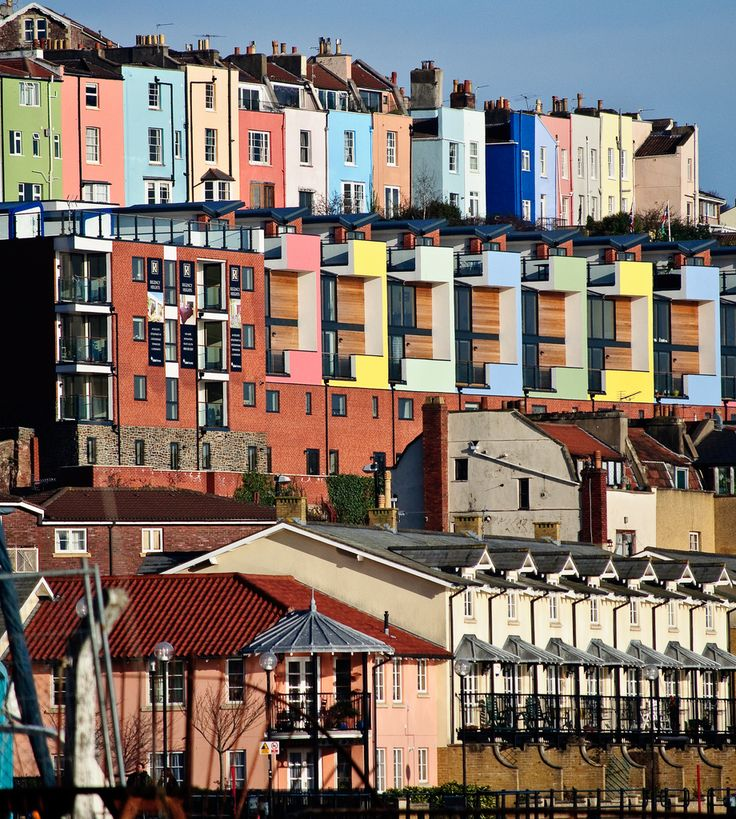Hotwells and Cliftonwood, Bristol, England