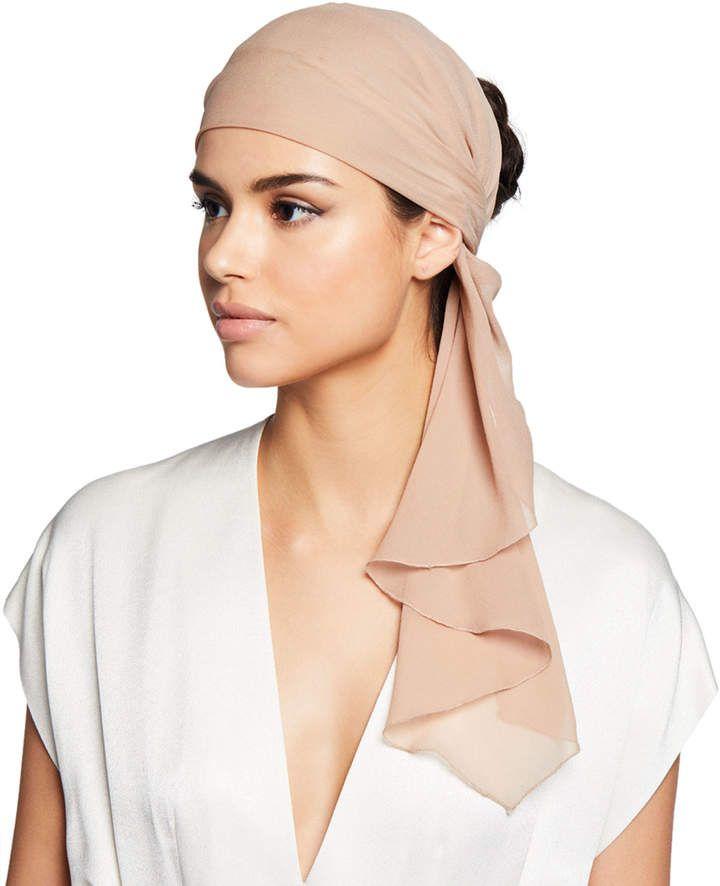 Silk Head Wrap Scarf   – Products