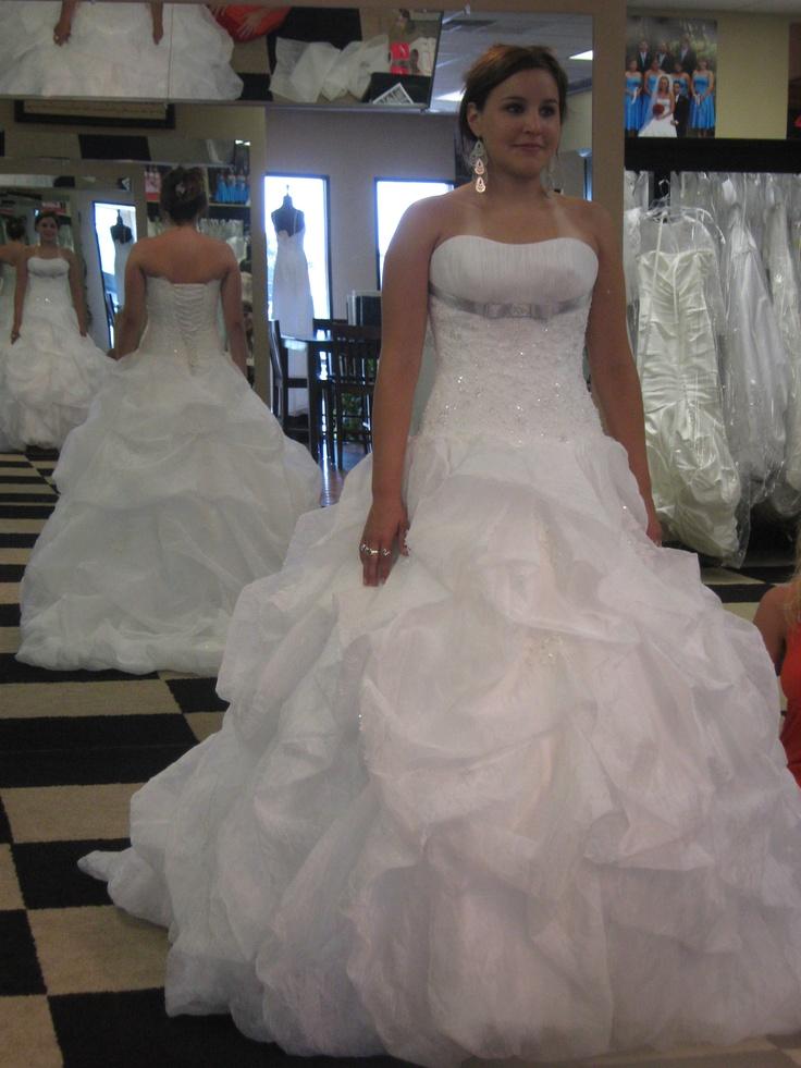 Good ol' debutante dress!
