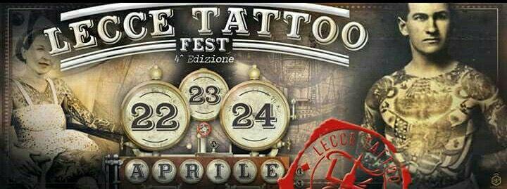 Sarò presente alla Lecce Tattoo Fest💪💪💪  Per info o app mandare un whatsapp al 3245446860 AFFRETTATEVI...CI SONO ANCORA POCHI POSTI!!! 👊😁