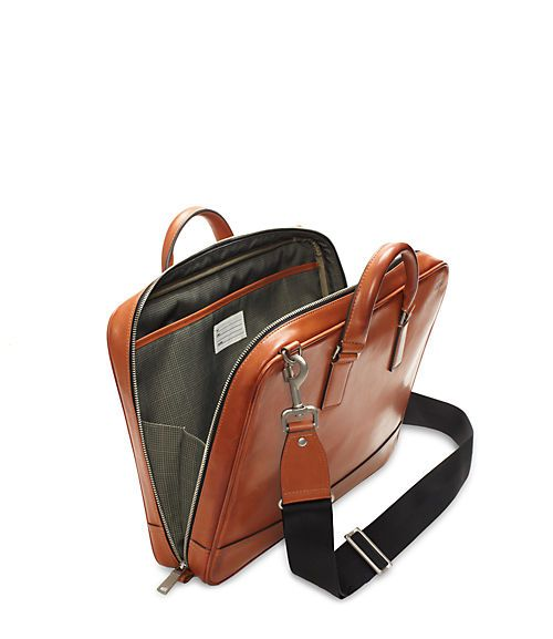 JackSpade Fulton Leather Darrow Brief