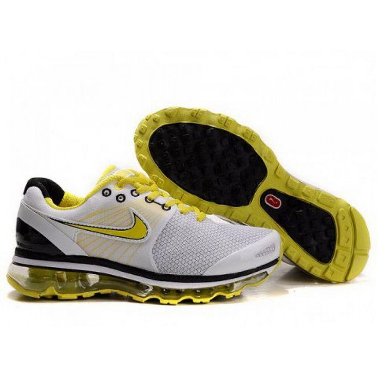 Nike Air Max 2010 Yellow White D10012