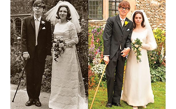 """With the arrival of Oscar-season, Entertainment Weekly fact-checked the new Stephen Hawking biopic The Theory of Everything. The iconic, legendary, revolutionary physicist said the film, based on his wife's book Traveling To Infinity, was """"broadly true""""."""