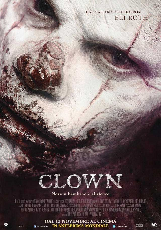 Eli Roth's Clown movie poster