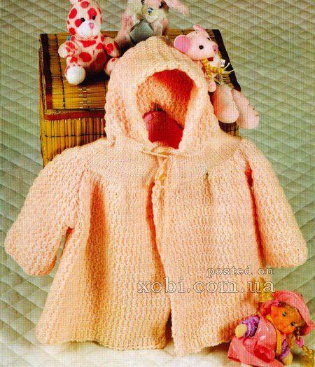 пальтишко с капюшоном «маленькое чудо»