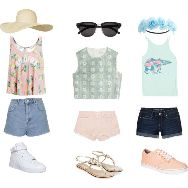 KUSADASI (EFESO) TURQUIA by communitymanagertav on Polyvore featuring moda, RED Valentino, Wildfox, Topshop, Aéropostale, J Brand, Vans, NIKE, Monsoon and Charlotte Russe