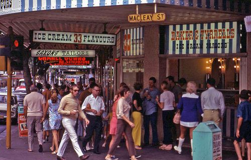 Kings Cross May 1970 Milkshakes were really good from here for lunch