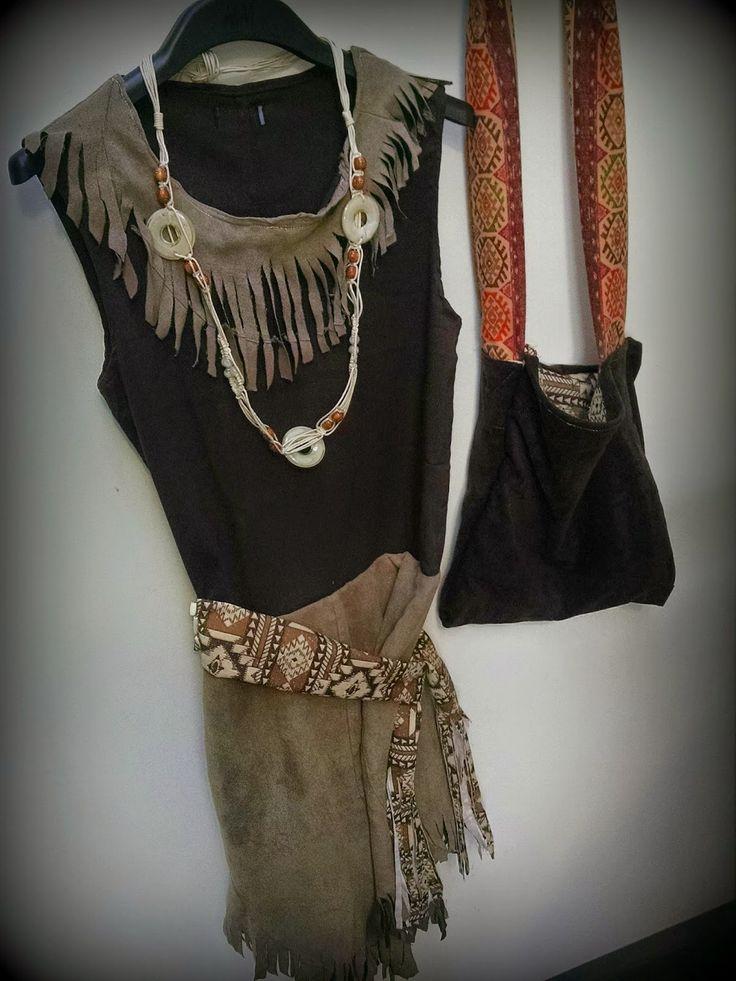 DIY indiaan pak Indian kostuum
