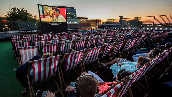 Outdoor movies in NYC including free screenings and rooftop films