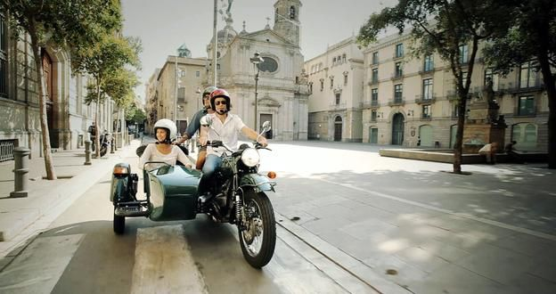 Ahh wonderful Barcelona!  A BrightSide private sidecar tour takes in Barcelona's sights from the seat of a motorcycle.