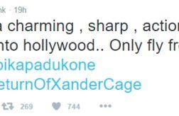 B-Town celebs are all praises for Deepika Padukones Hollywood debut xXx