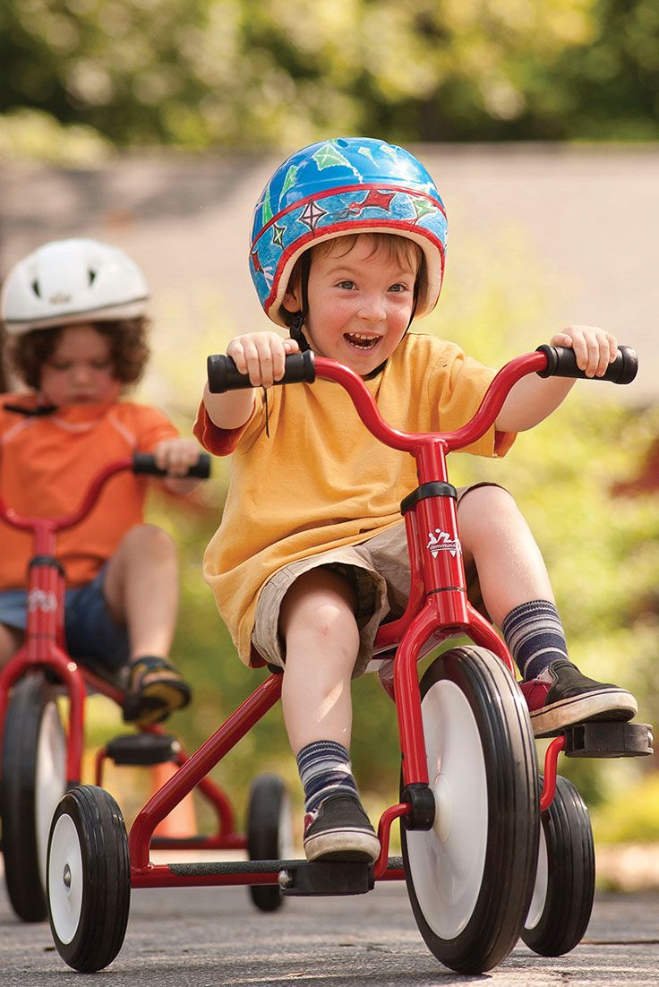 Children enjoy the action, unaware of the motor coordination, balance and skill they are gaining in the process.