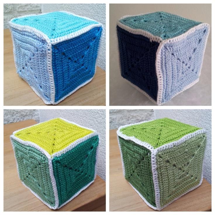 Kubus 6 kleuren