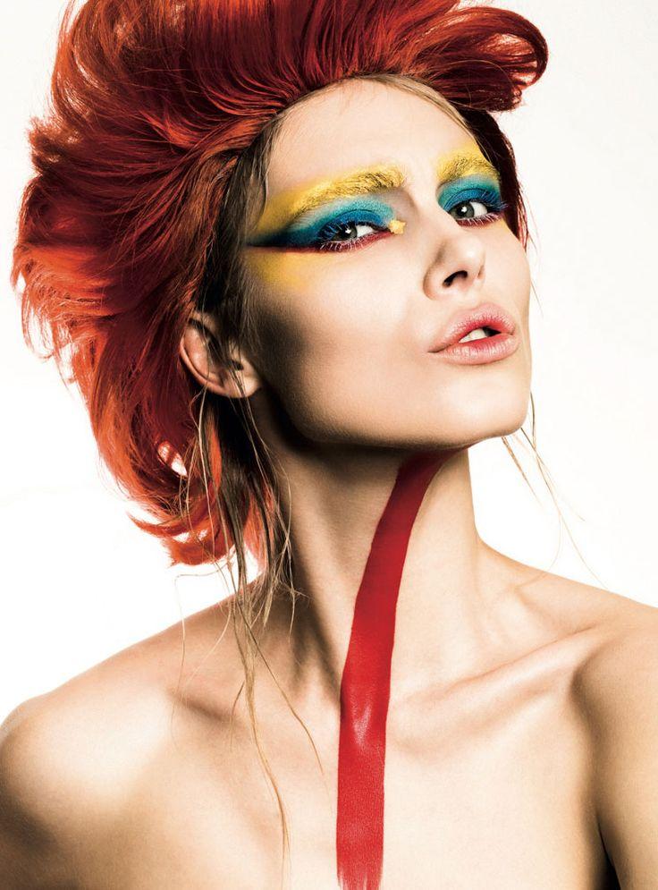 "Magazine: inCOVER Magazine @incovermagazine FASHION BOOK vol.IV Beauty Story: Let's Play Photographer: Kourosh Sotoodeh @kouroshsotoodeh, www.kouroshsotoodeh.com Model: Allegra Carpenter @allegra_bali @newyorkmodels@newyorkmodelsdirect Hair: Giuseppe Bicceri @giuseppenewyork Makeup: Brandie Hopstein @brandiebeauty @opusbeauty Light: @payam_pictures ""Let's Play: Colors, makeup, be other and enjoy being yourself. Be free to play."""