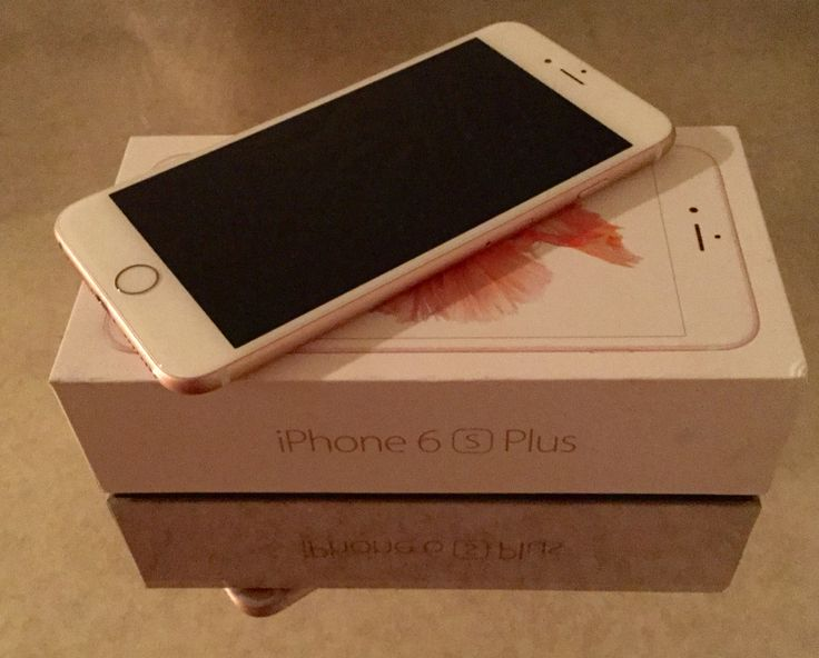 #1 ❤️ My Rose Gold iPhone 6s Plus!!