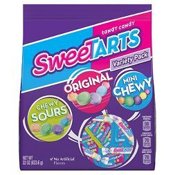 Tangy Candy SweeTARTS Chewy Sours, Original and Mini Chewy Variety Pack - 22oz