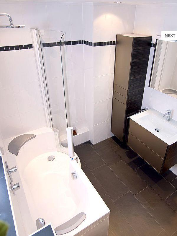 22 best kleine badezimmer mit badewanne images on pinterest. Black Bedroom Furniture Sets. Home Design Ideas