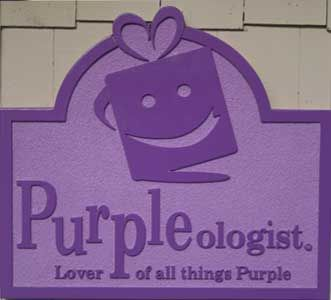 Great store in Myrtle Beach, SC for purple lovers. (they ship!) if you've been doing us long enough, you know we are the purple dept