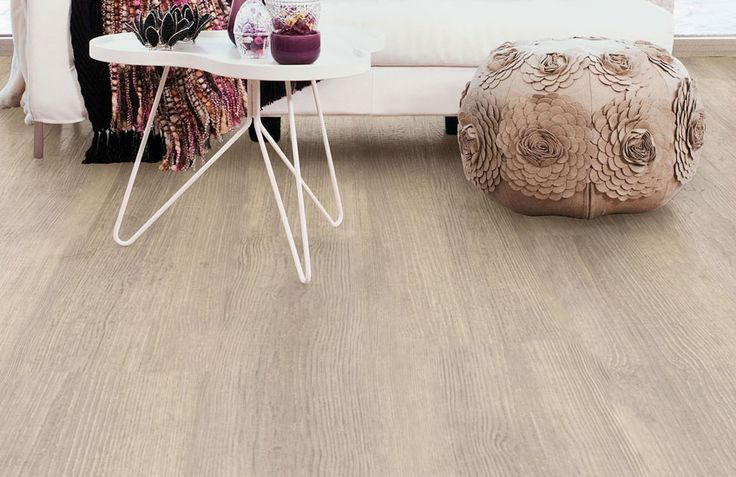#eiken #houten #pvc #vloer #hout #grijs #bruin #beige Home plus Fix - Scene taupe: Pvc click laminaat vloer (866) € 24,95  / m2 (incl. BTW)