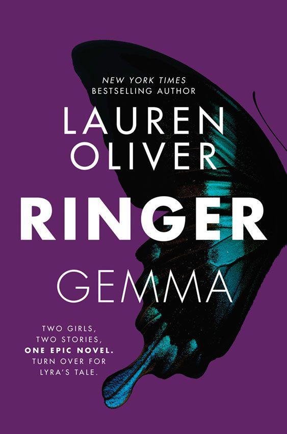 CoverReveal Ringer Replica 2 By Lauren Oliver