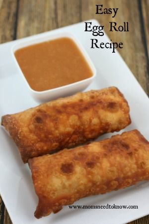 This easy egg roll recipe is great to keep in the freezer so you can reheat them whenever you are craving Chinese!