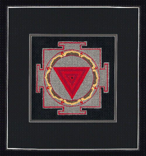 The Kali Yantra- meaning