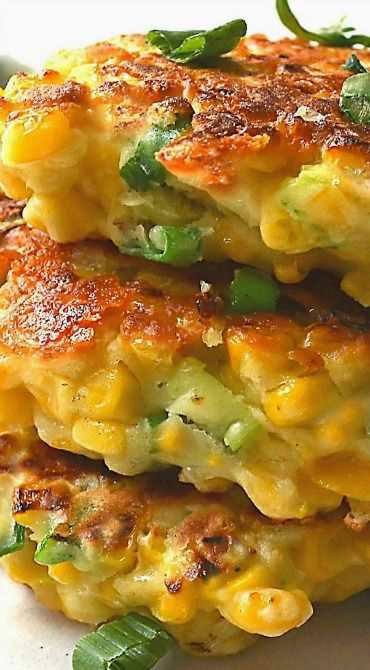 Mexican Corn Cakes with Jalapeno & Lime