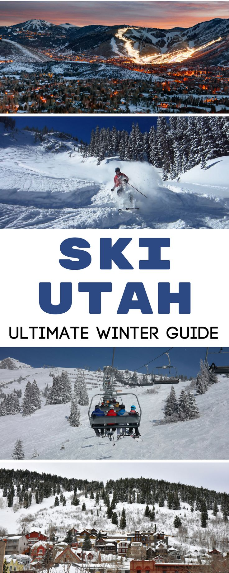 Think of a top ski destination in the USA and Utah probably comes to your mind. With infamous ski resorts such as Park City, Utah makes for an excellent winter ski trip location. This guide includes popular resorts such as Park City and Sundance, as well as some lesser know ski and snowboarding gems. Winter travel in Utah. | Travel Dudes Travel Community #Utah #WinterTravel