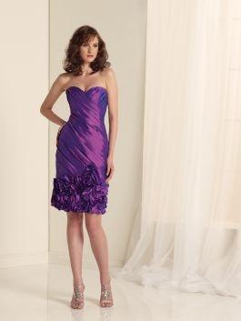 Cadbury Purple Bridesmaid Dress by Sophia Tolli