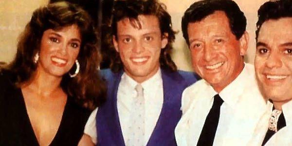 Lucía Méndez recordó su noviazgo con Luis Miguel