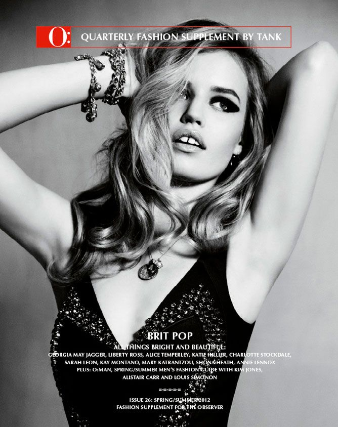 Georgia May Jagger by Carlotta Manaigo for O by Tank