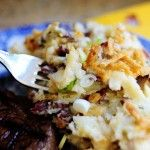 Restaurant~Style Smashed Potatoes ~The Pioneer Woman. Saw her make this on her show...to die for yummy!