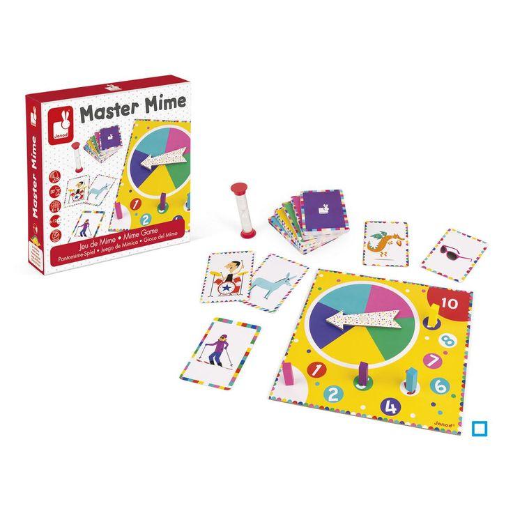 Master Mime - Taille : Taille Unique   Jeux de société enfant, Jeu de mimes et Mime